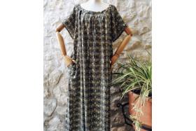 Rosanne dress (khaki green)