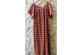 Rosanne dress (sunset red)