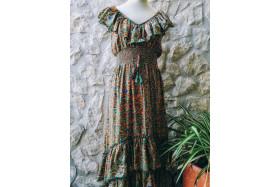 Indira Green dress