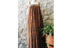 Guadelupe dress (orange)