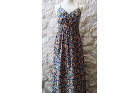 Floral Blue Garden dress