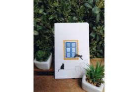 Cat Window Notebook