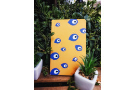 Eyes in Gold Notebook